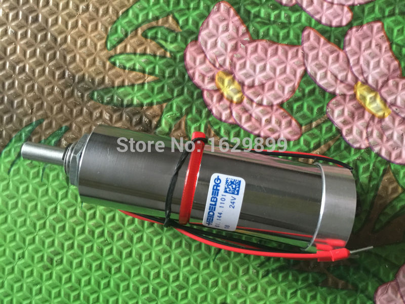 24V motor 1 piece heidelberg printing motor 61.144.1101, Motor for SM102, motor for CD102 machine  1 piece motor g2 144 1141 for sm74 xl75 heidelberg machine g2 144 1141 a
