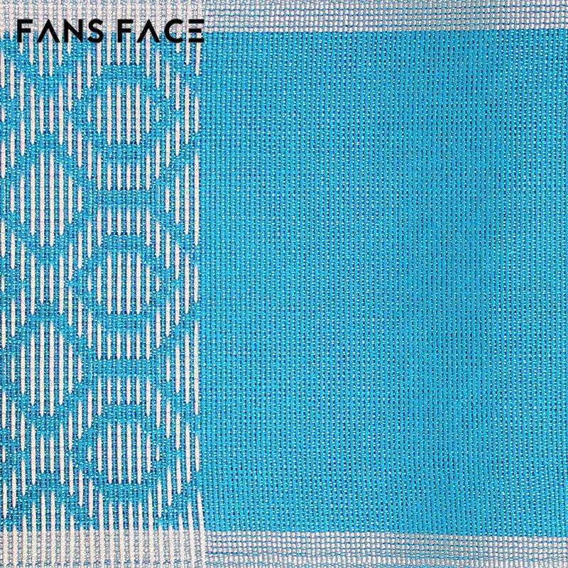 Afrikanske kvinners Aso Oke Headtie Polyester Fabric Ikke Lett - Nasjonale klær - Bilde 5