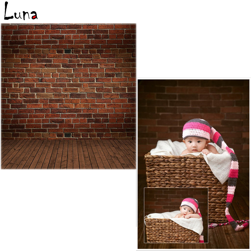 Vinyl Photo Backdrops Brick Wall Oxford Photography Background Brown Wood Floor For Children photo studio  vinyl photo backdrops for photo studio button oxford photography background wood floor for children free shipping