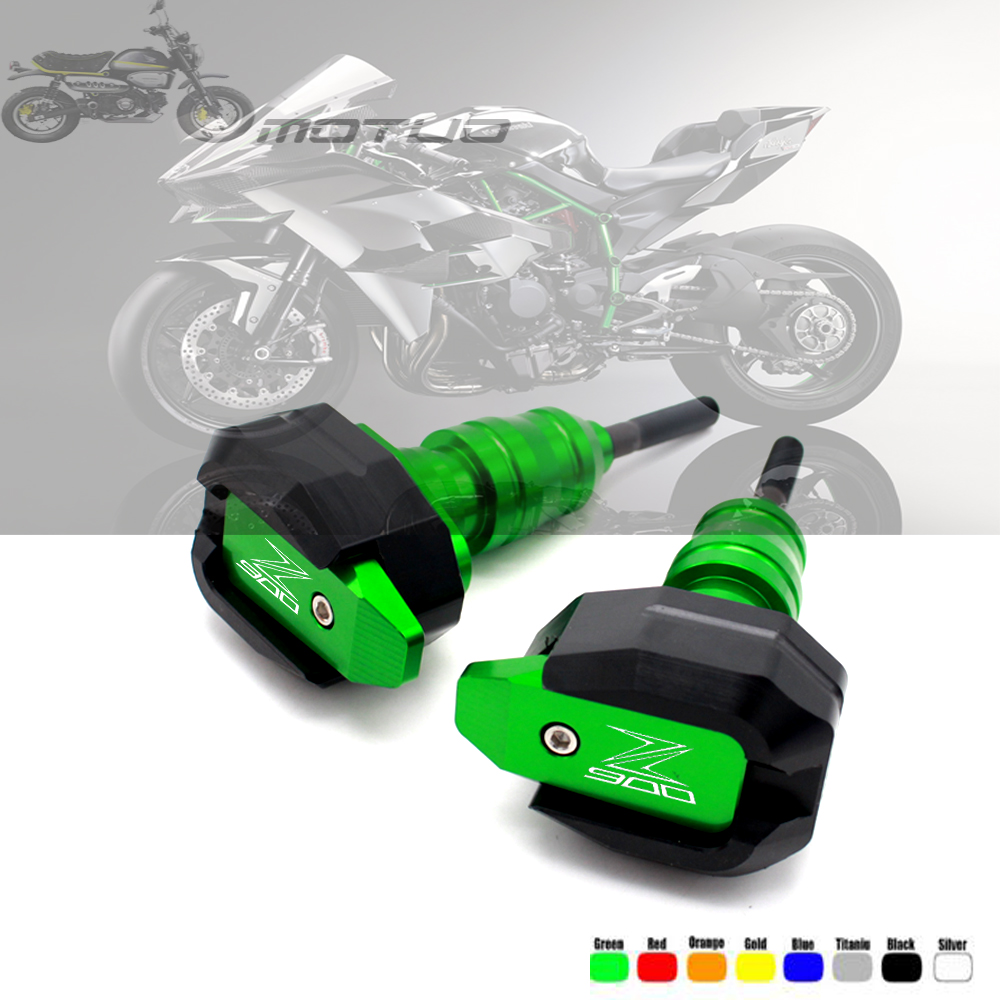 For <font><b>motorcycle</b></font> <font><b>KAWASAKI</b></font> Z900 <font><b>Z</b></font> <font><b>900</b></font> 2017 2018 2019 CNC fall protection frame slider fairing anti-collision crash pad protector image