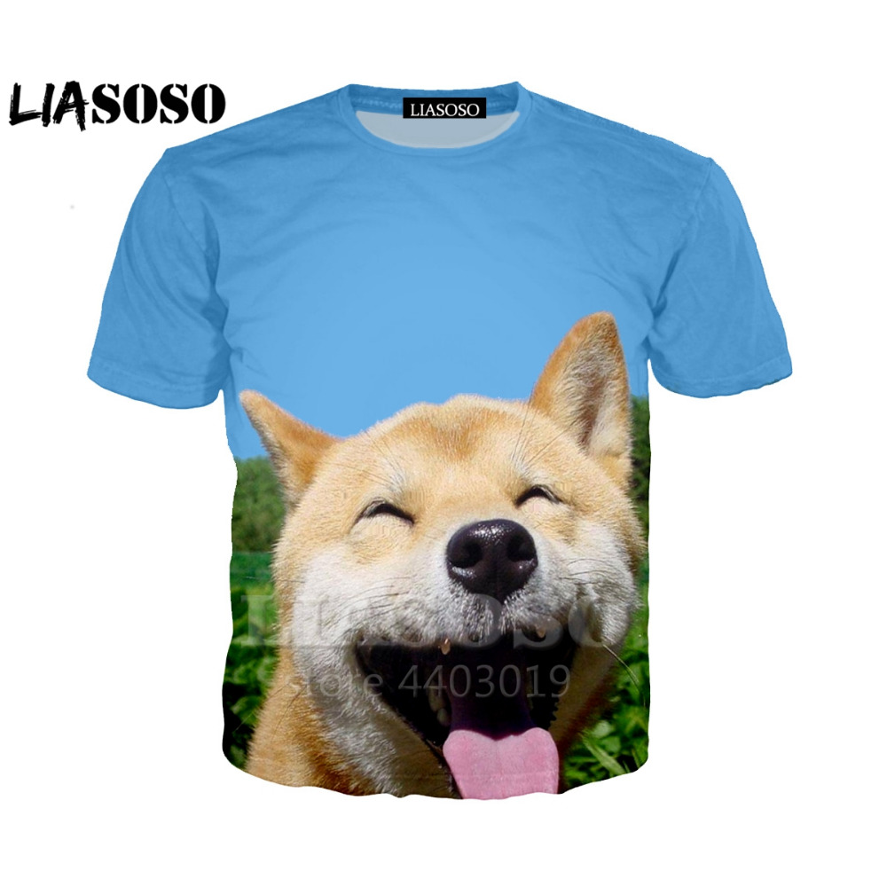Women/'s//Men/'s Graphic Tee Galaxy Shibe Funny 3D Print Such Doge Casual T-Shirt R