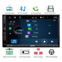 ATOTO W3 Double Din Car GPS Radio Player/Bluetooth 5.0 with aptX /W3272/Android phone link/Indash Multimedia Radio/USB