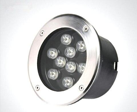 6 pcs led light underground 3 w 5 w 7 w 9 w 12 w
