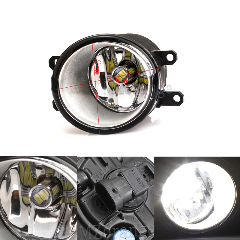 Fog Lamp Assembly New Black Right Left LED Front Fog Light Lamp Grille Cover Bezel for Toyota Corolla 2007 2008 2009 2010 in Car Light Assembly from Automobiles Motorcycles
