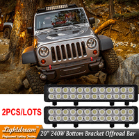 DHL 2pcs Lot Free Shipping 20Inch LED Light Bar 240w Truck Roof Off Road Tractor Light