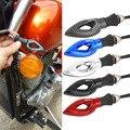 2x Мотоциклов 12LED Сигнала Поворота Индикатор Мигалка Свет для Honda для kawasaki Новый Падения Доставкой