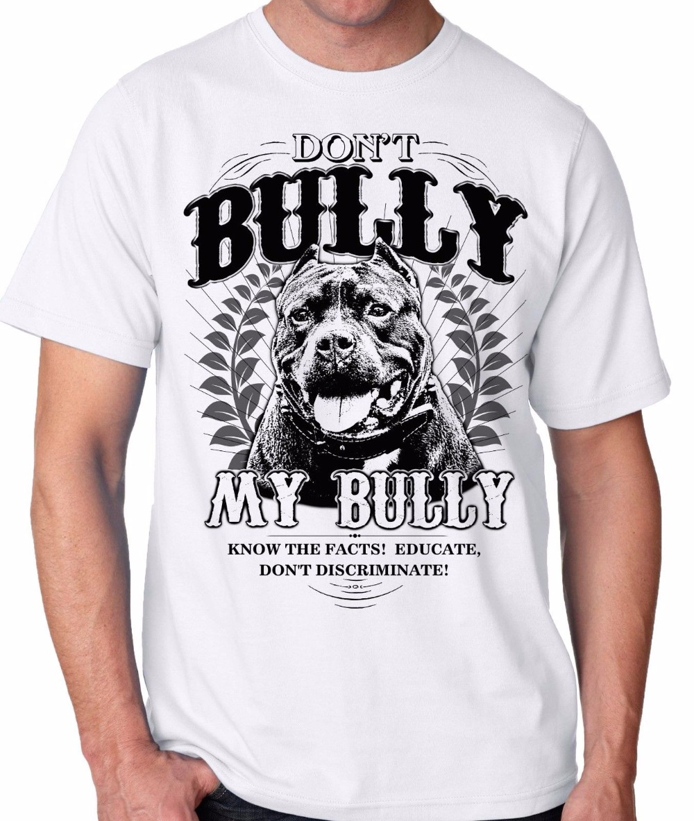 2018 Новое поступление Футболки для девочек Для мужчин 100% хлопок футболка не хулигана мой хулигана питбуль Петербурга для Pitbull любителей т ру...