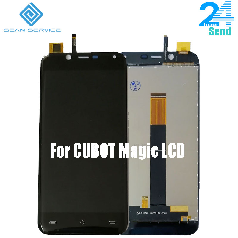 100% Original 5.0 inch Touch Screen+1280x720 LCD Display Assembly Replacement For Cubot Magic Android 7.0 Phone(China)
