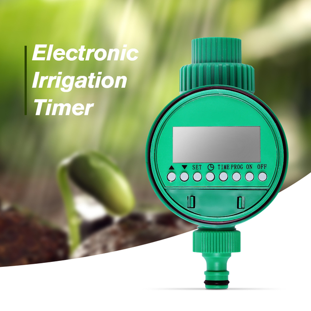 Automatic Drip Irrigation Electronic Water Timer Garden Sprinkler Controller Automatic Watering System Plant Garden Supplies