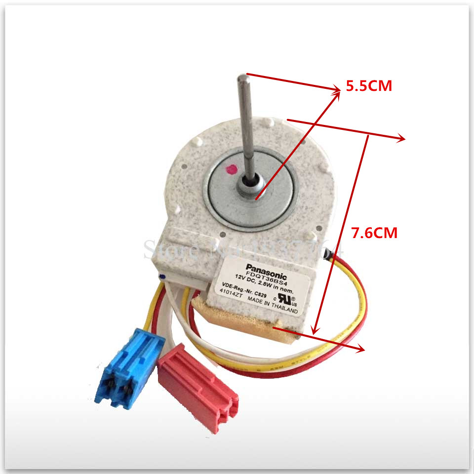 100% new for good working High-quality for refrigerator FDQT36BS4 12v Fan Motor 100% new for good working high quality for refrigerator motor freezer motor kbl 48zwt05 1204