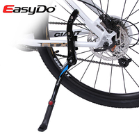 EasyDo Aluminum Adjustment Suporte Bike Rack Cycling Bicycle Holder Parking Kickstand Side Rear Kick Stand Cycle Accessories