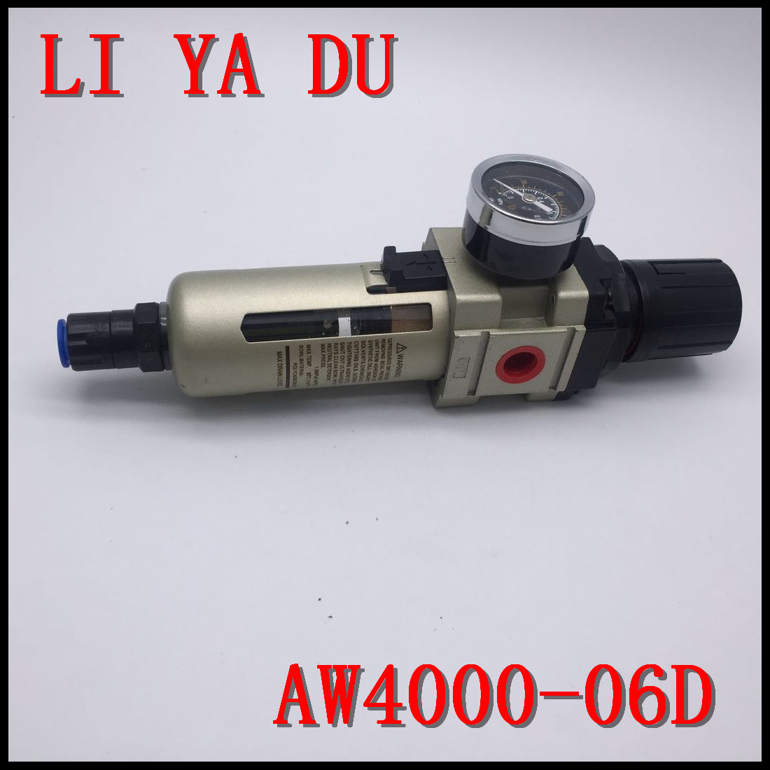 AW4000-06D G3/4 pneumatic Air or Water hepa fuel Standard Filter with Drainage right pneumatic high quality ac4010 06series air filter combination1000 5000 g3 4