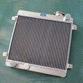 Radiador de alumínio/40mm liga de alumínio do radiador Para Fiat Assento 128 127 1100 1300 69-85