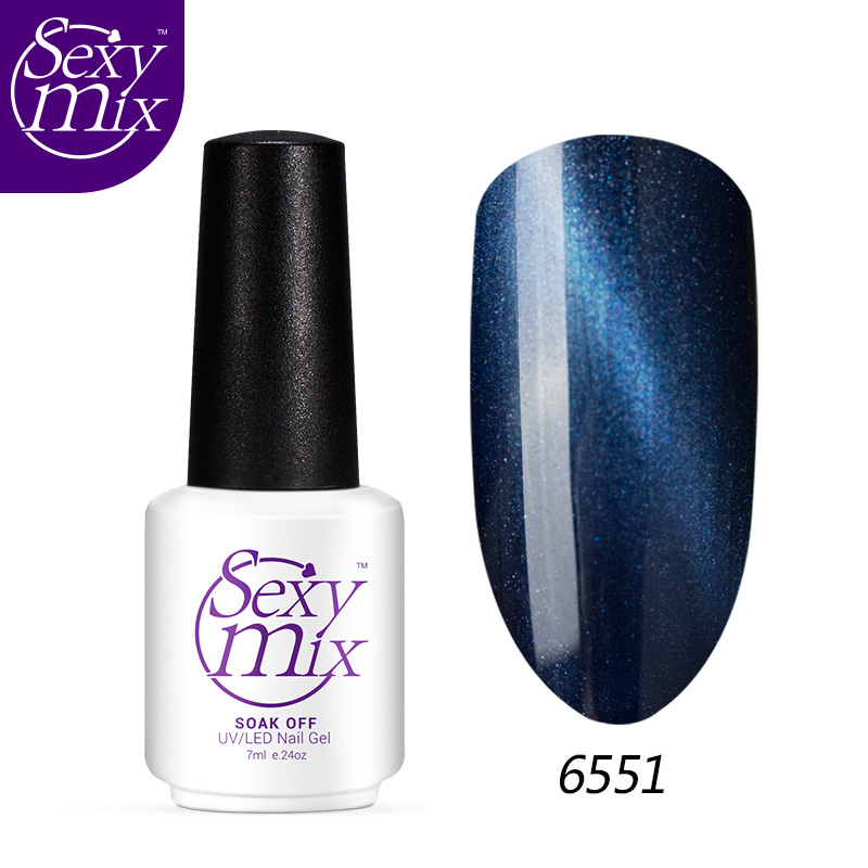 Sexy mix 3D Cat Eyes UV Gel Polish 7ml Soak Off led uv gel nail polish Magnetic Gel Lacquer Long-Lasting nail Gel
