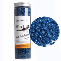 Hot Depilatory Film Hard Wax Beans Pellet Waxing Facial Bikini Hair Removal Wax Whitening 400g Chamomile