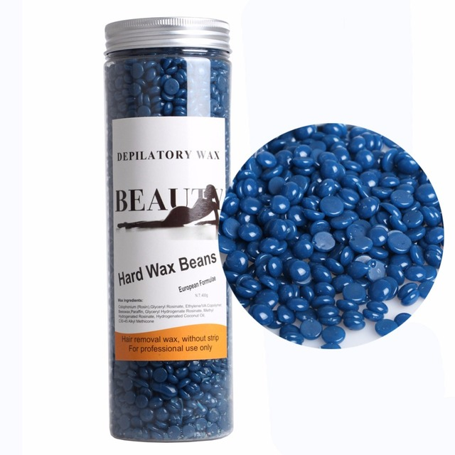 US $14 08 12% OFF|Hot Depilatory Film Hard Wax Beans Pellet Waxing Facial  Bikini Hair Removal Wax Whitening 400g Chamomile Scent Depilacion Cera-in