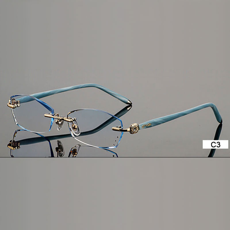 B002 бриллиантты сәнді көзілдірік, - Киімге арналған аксессуарлар - фото 4
