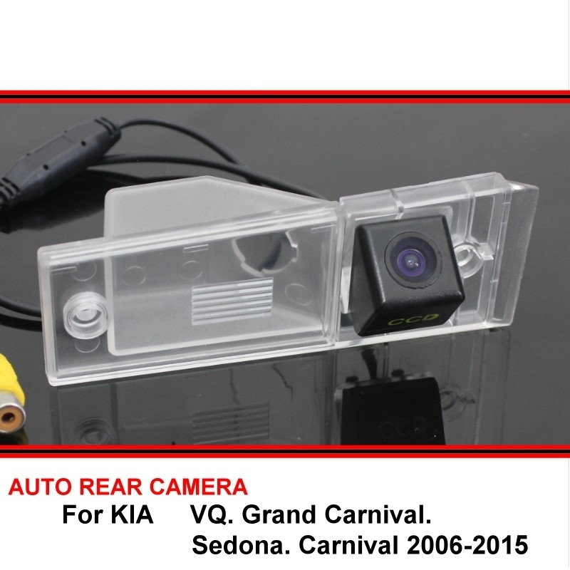 For KIA VQ Grand Carnival Sedona Carnival 2006~2015 Reversing Camera Car Back Up Camera Rear View Camera HD CCD Night Vision