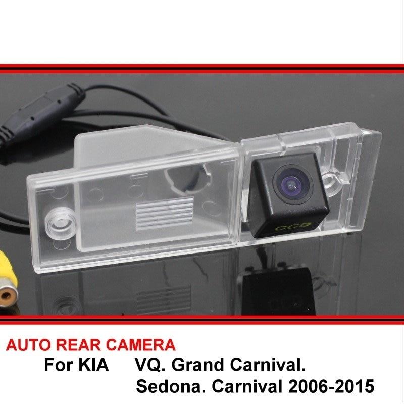 Камера заднего вида для KIA VQ Grand Carnival Sedona Carnival 2006 ~ 2015, Автомобильная камера заднего вида, камера заднего вида HD CCD с ночным видением