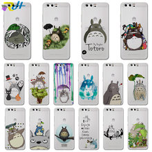For Huawei honor 6A 6X 9 case Cute Totoro phone cover for Huawei honor 7A Pro 7X 7C5.7 8 Lite 8C 8X 9 Lite 10 Lite Coque Etui(China)