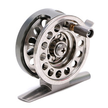Fishing Reels Metal Spool Centrifugal Droplets Round Bearings Fly Fishing Wheel