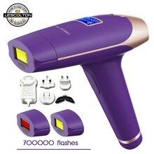700000 times 3in1 Lescolton Depilador a Laser IPL Epilator Hair Removal LCD Display Machine Permanent Bikini Trimmer
