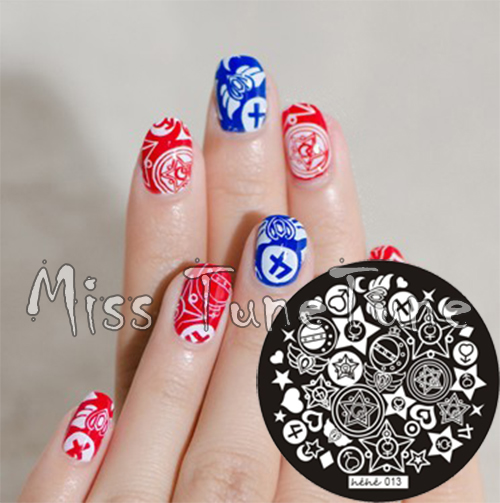 New Stamping Plate hehe13 Girly Jewelry Box Cartoon Sailor Moon Nail Art  Stamp Template Image Transfer Stamp-in Nail Art Templates from Beauty &  Health on ... - New Stamping Plate Hehe13 Girly Jewelry Box Cartoon Sailor Moon Nail