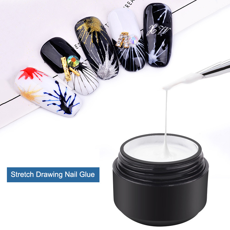Beauty & Health Nail Gel Nice 6 Colors Innovative Spider Glue Nail Phototherapy Glue Stretching Drawing Silk Painted Plastic Pull Flower Line Nail Polish Gel