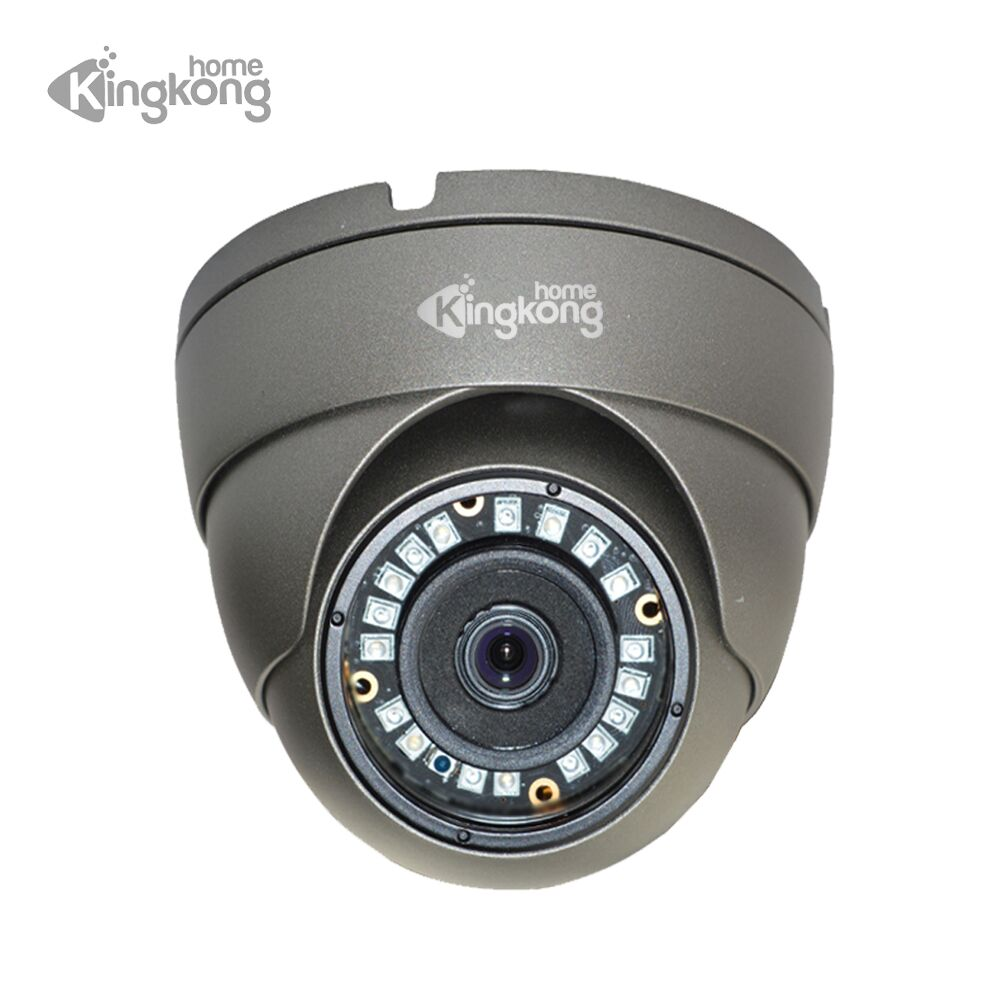 Image 1 - Kingkonghome Metal POE IP Camera 1080P Night Vision Outdoor Motion Detection Surveillance camera ONVIF CCTV Security Dome Camera-in Surveillance Cameras from Security & Protection
