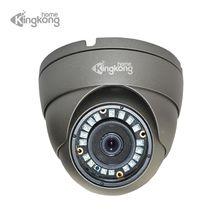Kingkonghome metalowa kamera IP POE 1080P noktowizor zewnętrzna kamera monitorująca ruch ONVIF CCTV kopułkowa kamera bezpieczeństwa
