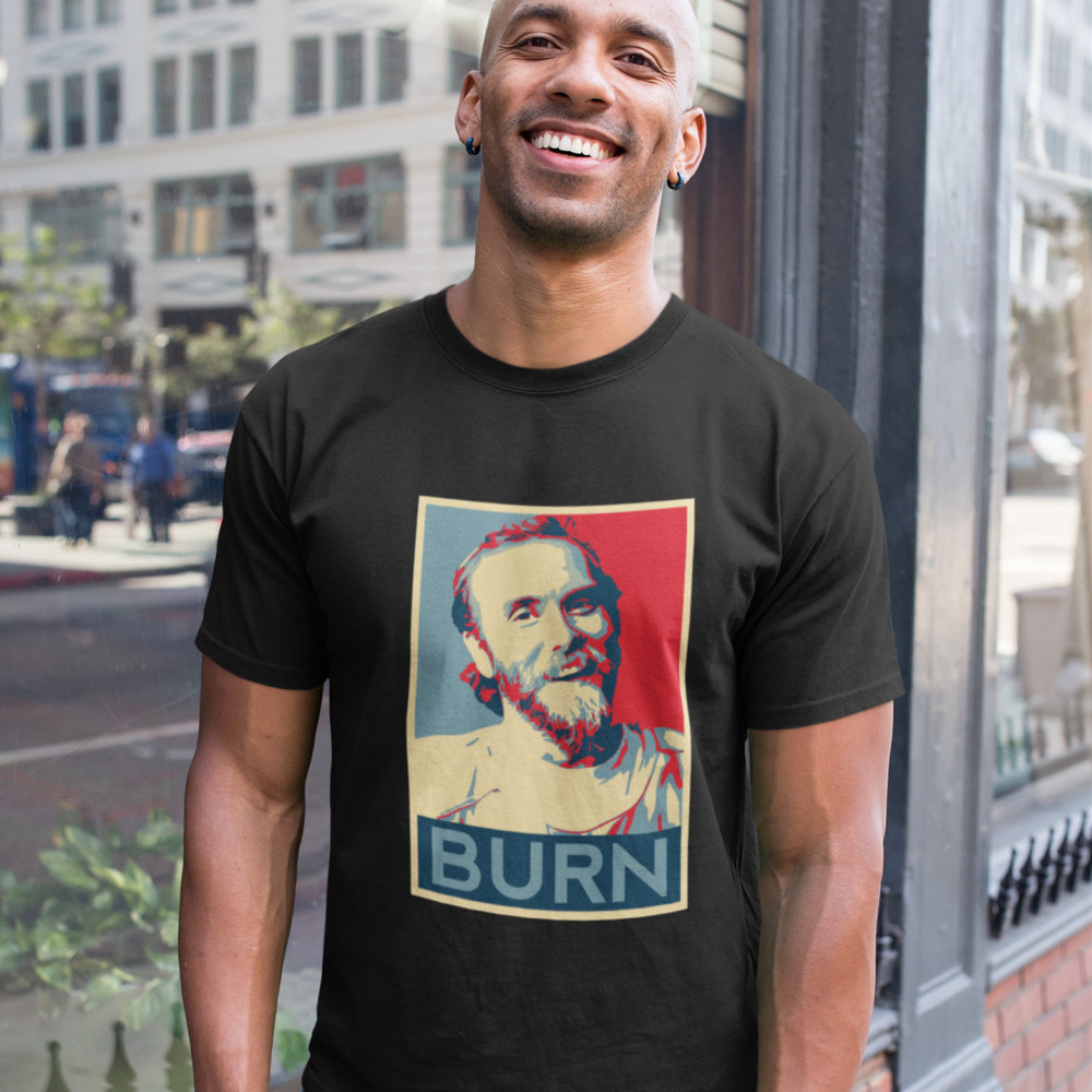 Burzum   T  -  Shirt   Varg Vikernes - BURN Basic   T     Shirt   Casual   T  -  Shirts   Graphic Summer Men Short Sleeve   T     Shirts   100 Cotton Tee   Shirt
