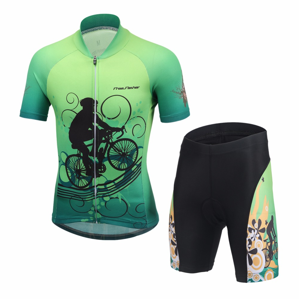 Summer Children Cycling Jersey set Bike Riding Clothing Bicycle Short Sleeve Shirt with Shorts for Kids M-3XL