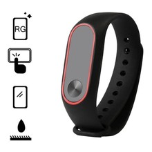 Premium Replacement Wrist Strap With Two Color Unique TPU Wristband for XIAOMI MI Band Second Generation