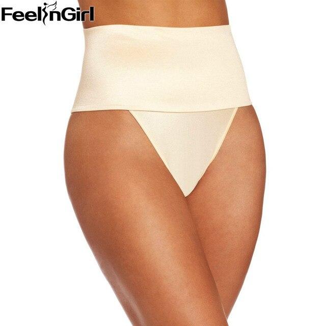 FeelinGirl Bundas Lifter Panty Tummy Controle Shapewear Emagrecimento Cueca Butt Lift-E Corretiva Roupa Interior para As Mulheres