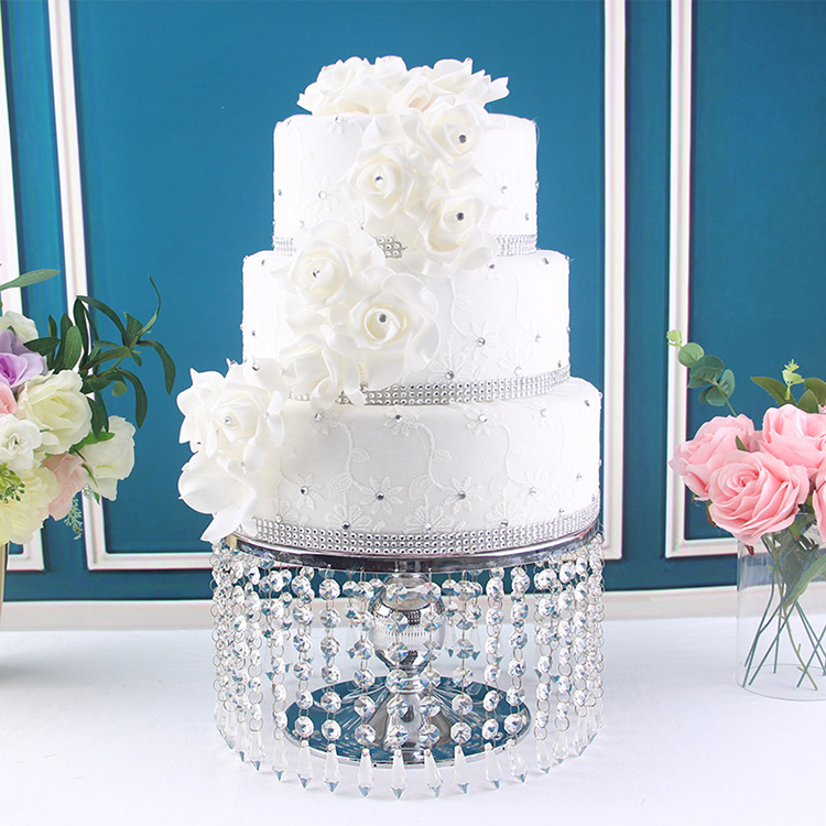 12 inch crystal cake stand holder cupcake pan wedding table centerpieces cake decor wedding cake gift favors stand baking tools