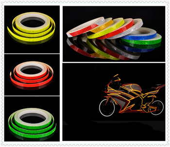 Motorcycle accessories bicycle car reflective tape sticker warning strip for BMW K1600 GT GTL R1200GS R1200GS ADVENTURE R1200R image