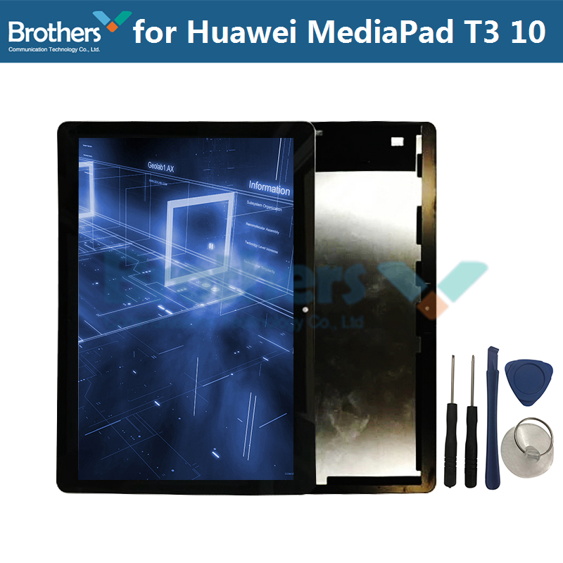 Tablet LCD Display For Huawei MediaPad T3 10 Touch Panel LCD Screen Assembly for MediaPad T3 LCD Touch Screen Digitizer 9.6\'\' (2)