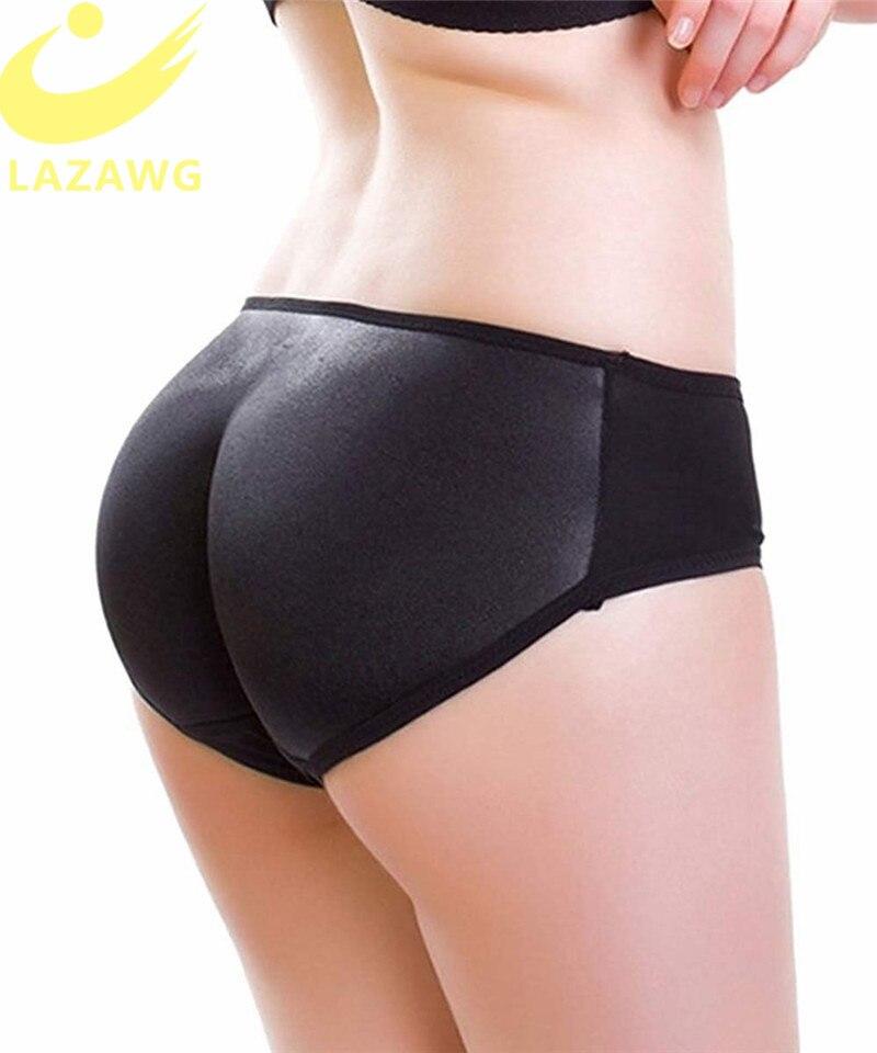 LAZAWG Women Fajas Butt Lifter Hip Enhancer Pads Underwear Shapewear Booties Padded Control Panties Shaper Fake Pad Briefs