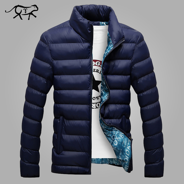 2017 Winter Jacket Men New Brand Men's Jackets and Coats Casual Fashion Wearing Warm Cotton Coat Anorak Jaqueta Masculina Hombre