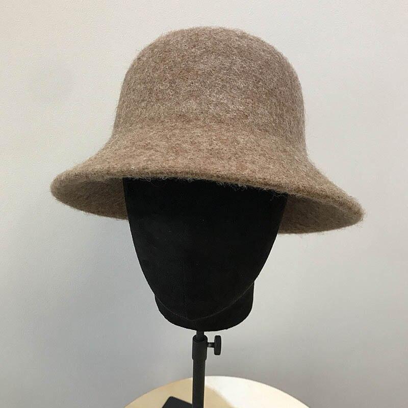 """Woman/'s Hat Women/'s suede hat /""""Beauty/"""" Elegant Hat Cloche Hat. Vintage Hat"""