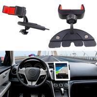 Universal Multifunctional Car Auto 360 Degree Rotation CD Mount Slot Phone Holder Car Styling Accessories For