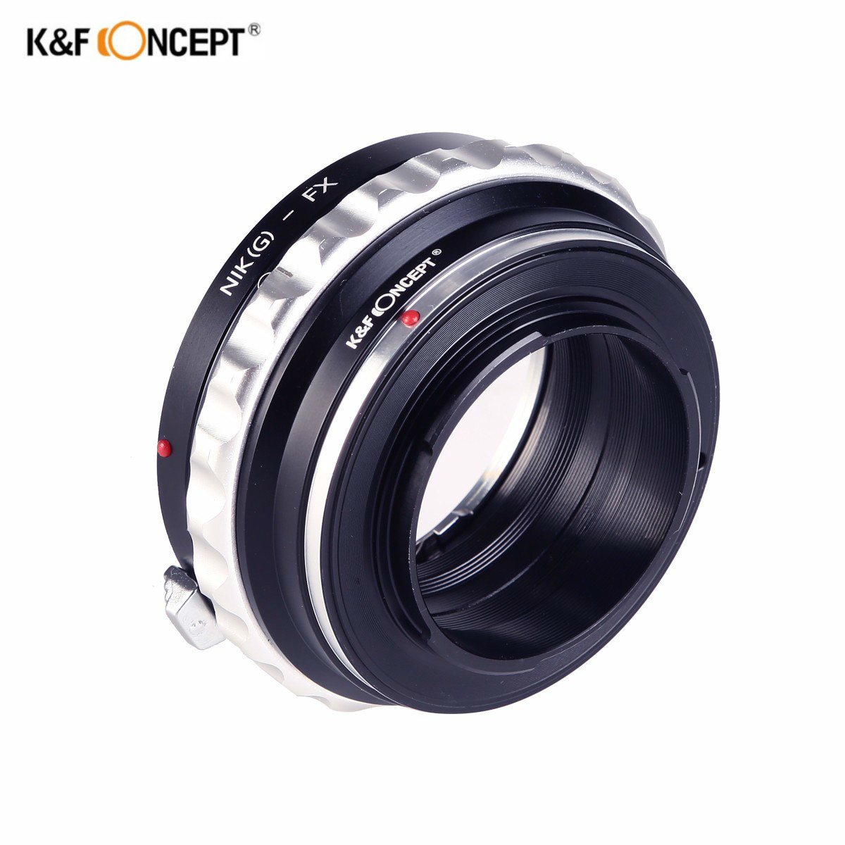 K&F CONCEPT Lens Adapter Mount Ring for AI(G)-FX AI lens to fuji FX X X-Pro1 E1 XPro1 Camera Body Free Shipping цена