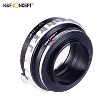 K&F CONCEPT Lens Adapter Mount Ring for AI(G)-FX AI lens to fuji FX X X-Pro1 E1 XPro1 Camera Body Free Shipping