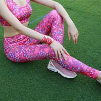 Pantalones Deportivos de Fitness de Secado rápido Elástico de Cintura Alta Mujeres Leggings Leggings Pantalones Señora Pantalones Joggers Funcionamientos