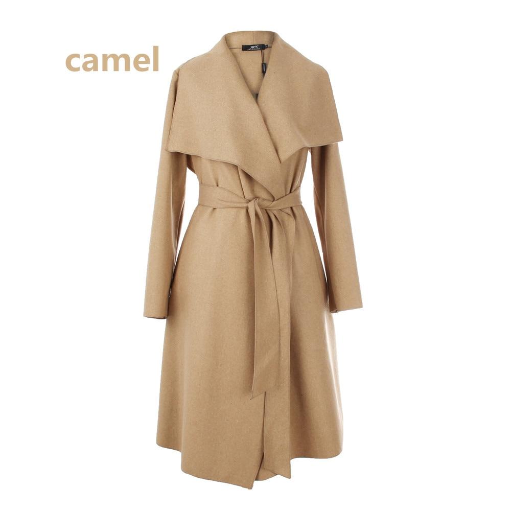 rose Sobretudo Outerwear Red dark Casual Coat Wool Long Green red 2018 Black Ladies Cardigan Mujer Trench gray Women Blend Casaco dark Autumn Feminino Loose camel Clothing blue S8RCq4