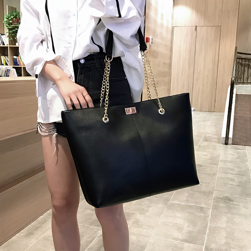 Women Pu Leather Handbags Female Shoulder Bag Designer Luxury Lady Tote Large Capacity Zipper