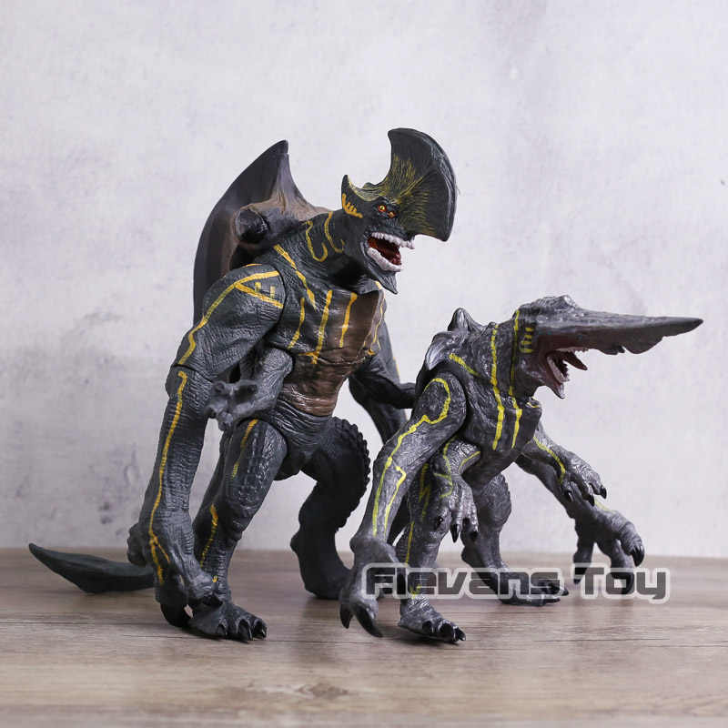 Pacific Rim Kaiju Knifehead Monstro/Invasor Estátua Action Figure Toy Collectible Modelo 2 Tipos