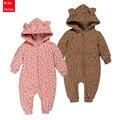 PPY-89, acolchoada primavera bebê infantil roupas macacão macacão menina menino pijama de algodão de manga longa crianças roupas de varejo