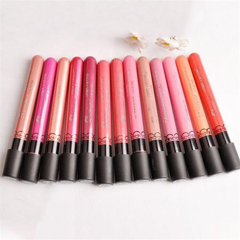 Women Makeup Super Waterproof Matte Lip Gloss Long Lasting Liquid Lipstick Cosmetics Striking Nonstick cup