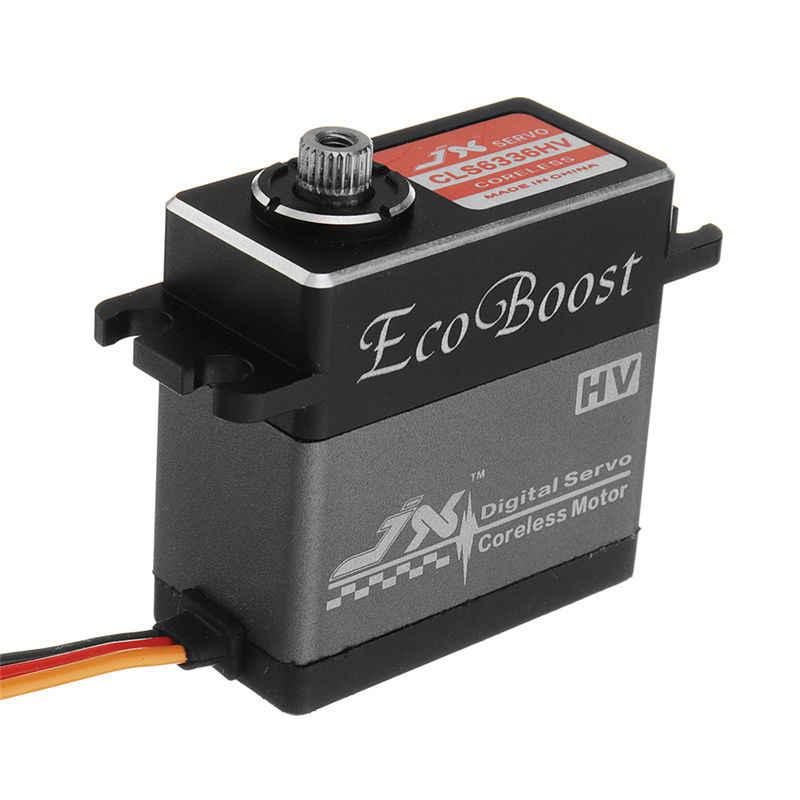 JX Ecoboost CLS6336HV 36 кг/BLS6534HV 33 кг большой крутящий момент 180 градусов CNC цифровой Coreless сервопривод для RC моделей вертолет DIY часть
